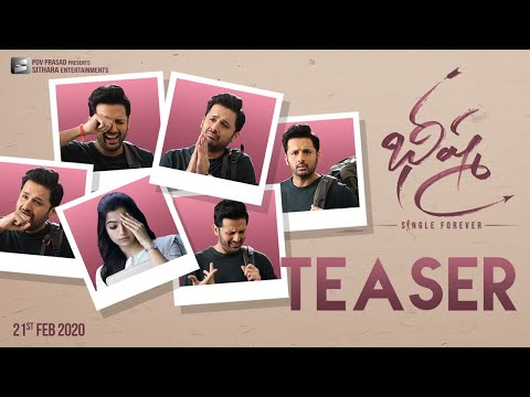 #BheeshmaTeaser Bheeshma Official Teaser - Nithiin, Rashmika Mandanna | Venky Kudumula