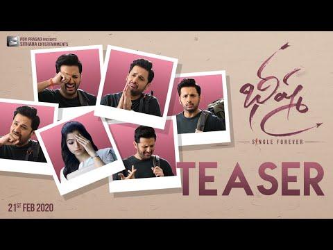 Bheeshma Official Teaser - Nithiin, Rashmika Mandanna | Venky Kudumula