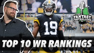 Fantasy Football 2019 - Early Top 10 WR Rankings, Dave Gettleman Speaks - #707