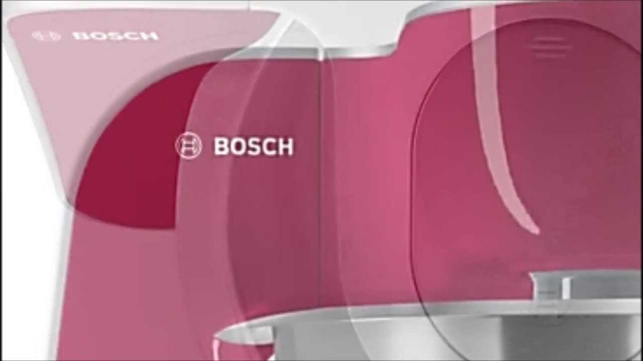 robot de cocina bosch mum5 youtube. Black Bedroom Furniture Sets. Home Design Ideas