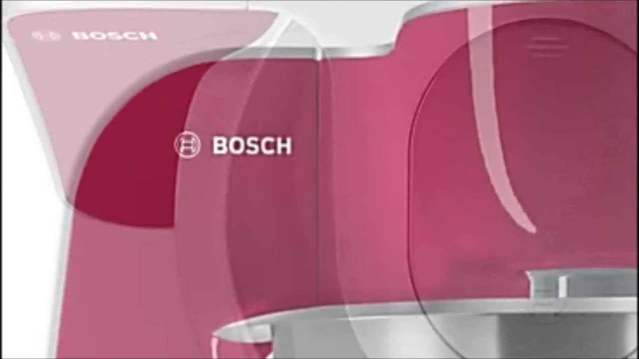 Robot de cocina bosch mum5 youtube for Robot de cuisine bosch mum5