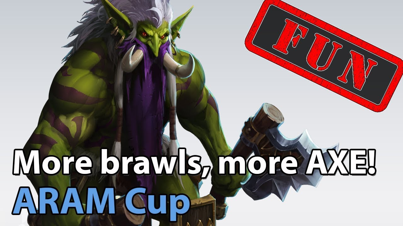 ► ARAM Cup - More Brawls, More Chaos, MORE AXE! - Heroes of the Storm Brawl