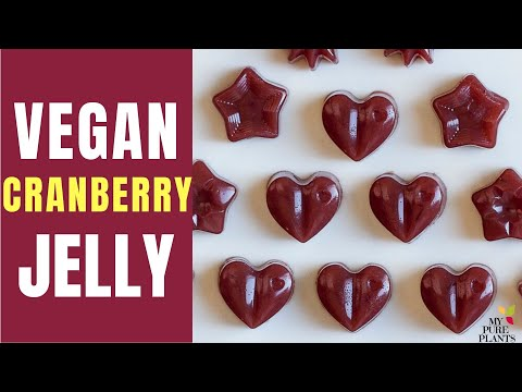 Jellied Cranberry Sauce (Vegan, Gluten-free))