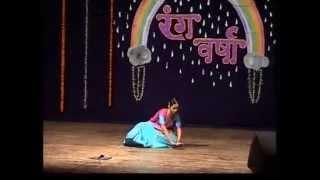Nrityalankar Mrs Vrushali Shashank Dabke Krishna Vandana - Rangvarsha 2009
