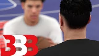 Loser Has To Leave Big Baller Brand! NBA 2K18 My Career Vs Lonzo Ball!