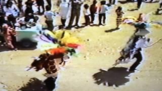 La Danza de la Culebra en el Carnaval de Papalotla de Xicohténcatl 1985.