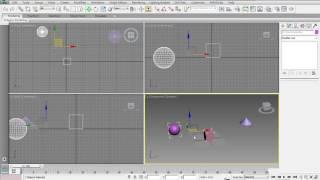 3ds Max 2015 教學課程 0035 Align(對齊工具) 講解
