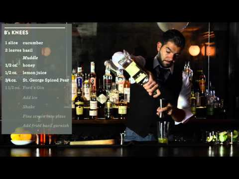 Crafting Cocktails No 8: B's Knees with Paulo Pereira