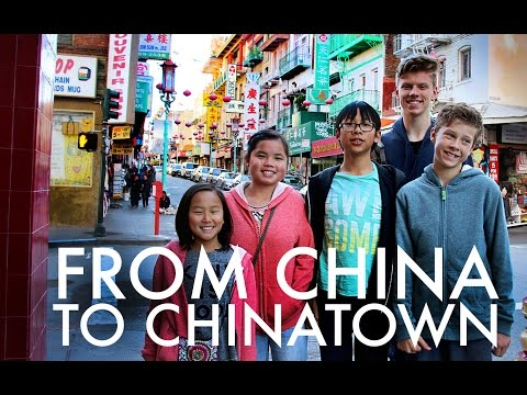 CHINESE ADOPTEES VISIT CHINATOWN : RV Fulltime w/9 kids