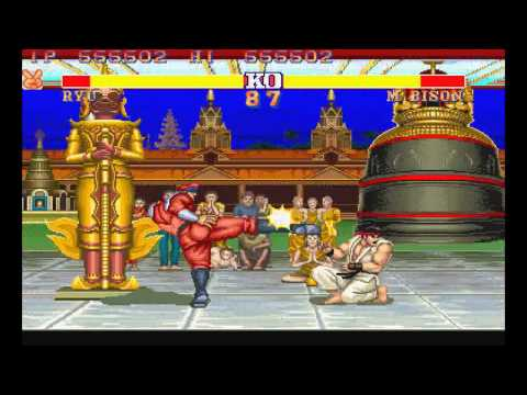 Street Fighter 2 Champion Edition | Ryu vs M. Bison
