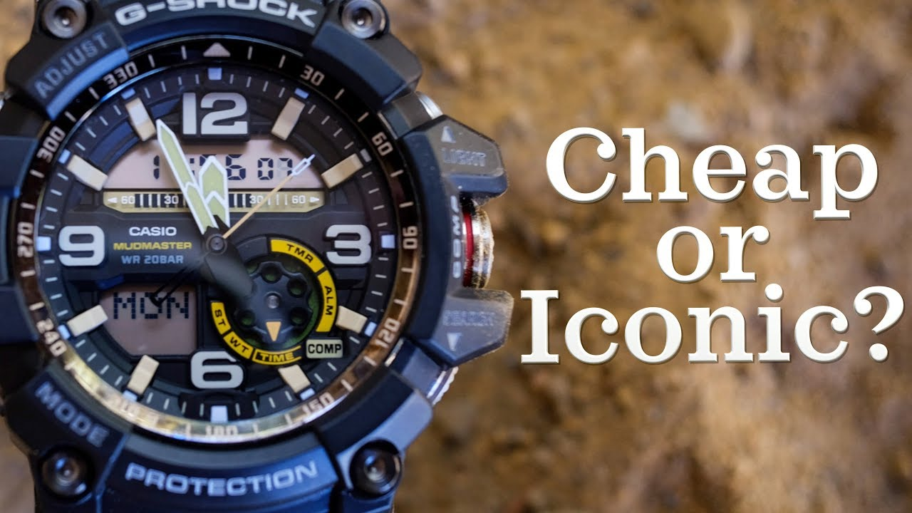 b6f70612acc1 The History of the G-Shock | Cheap or Iconic? - YouTube