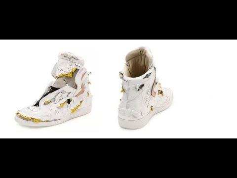 More 'distressing' fashion news: Neiman Marcus sells $1425 torn sneakers