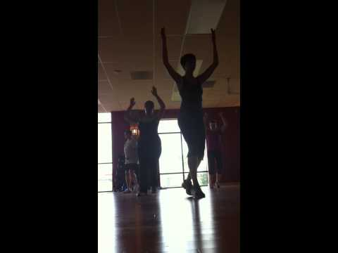 one of the first zumba classes I took