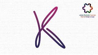 Custom Text Logo Design Tutorial using Line Style / Adobe illustrator Logo Design Tutorial