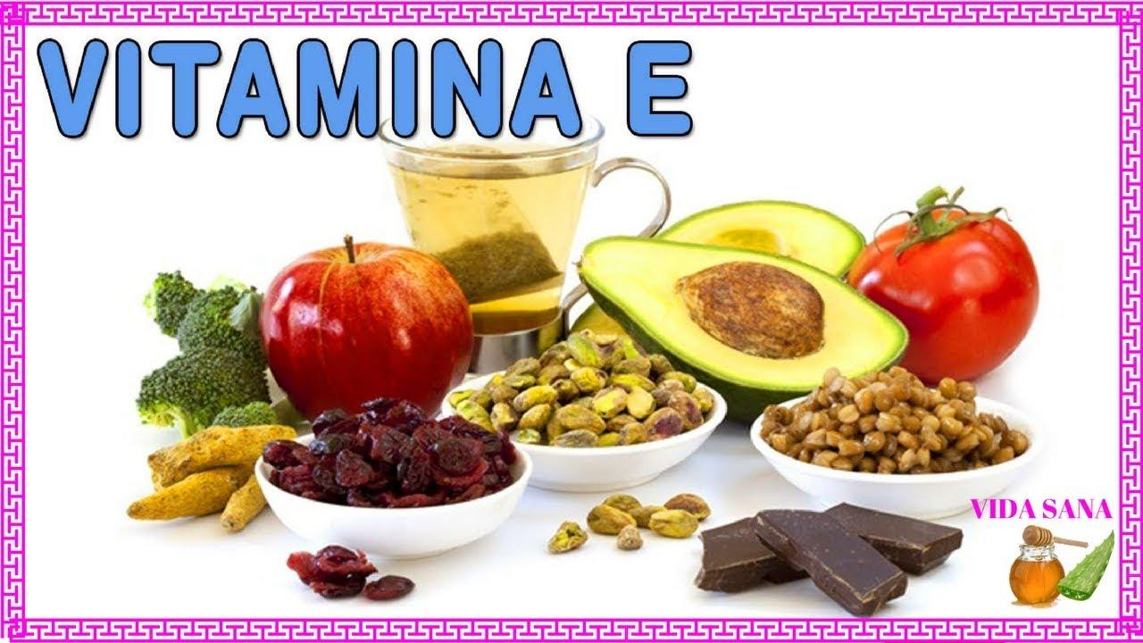 Alimentos ricos en vitamina a c e