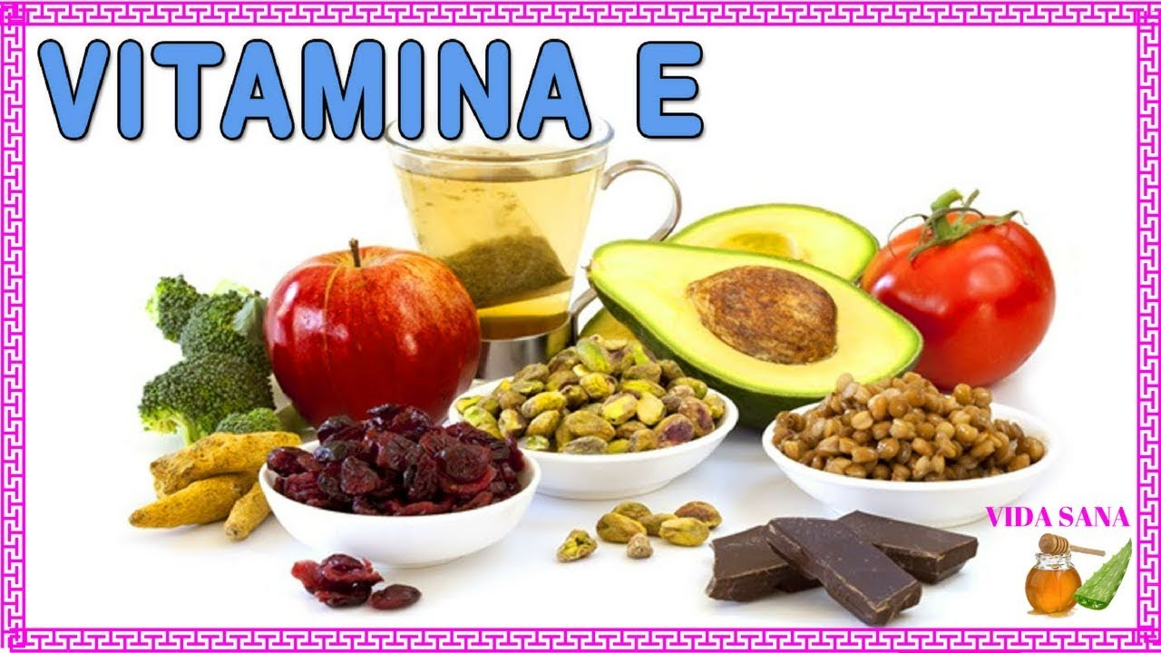 verduras q contengan vitamina e