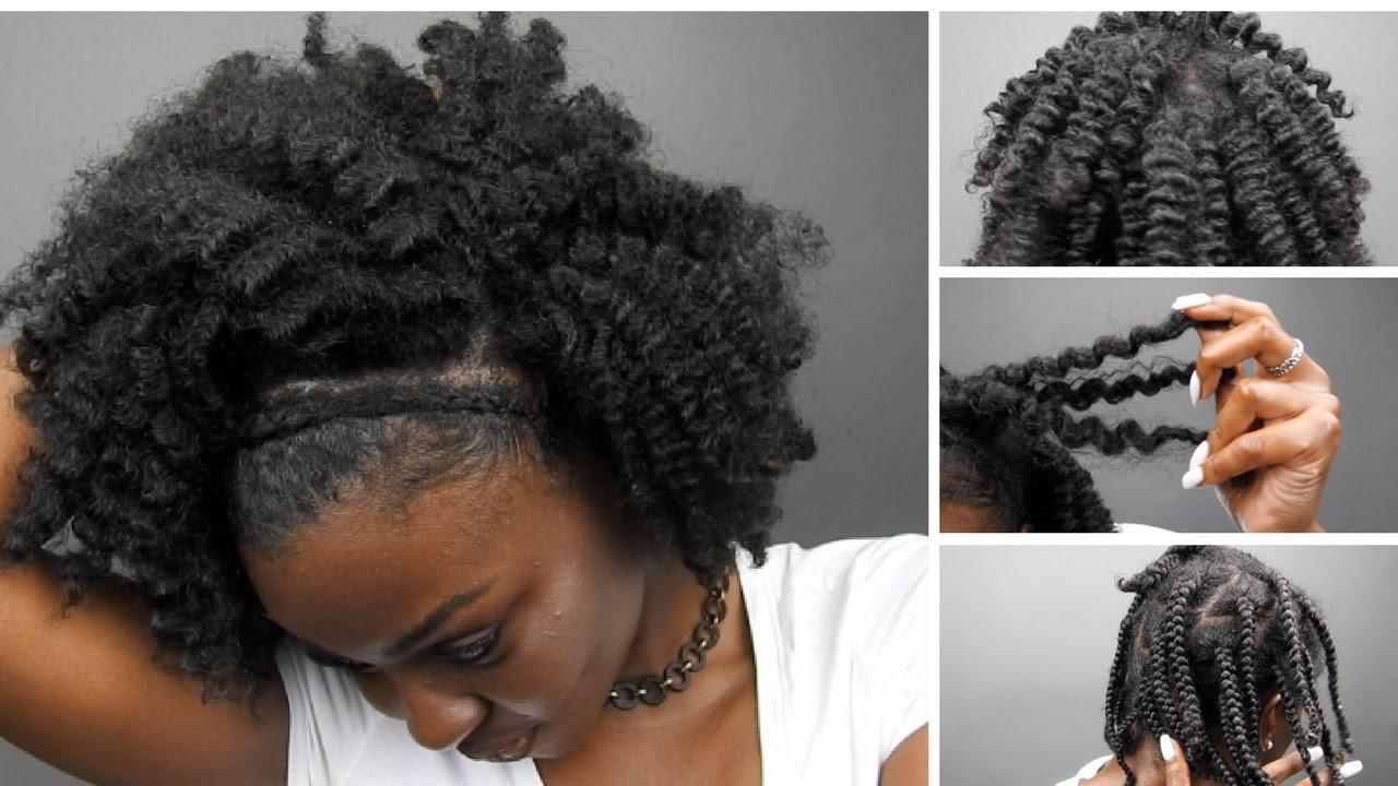 braid thick type 4 hair