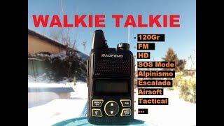 Walkie Talkie Ultraligero