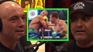Joe on Canelo Alvarez vs. Billy Joe Saunders w/Russell Peters