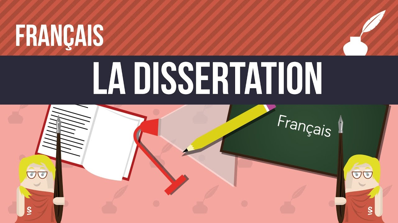 Français : La dissertation - YouTube