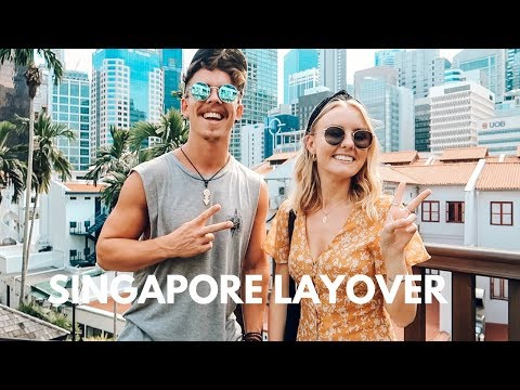 HOW TO SPEND A 14 HOUR LAYOVER IN SINGAPORE! 🇸🇬