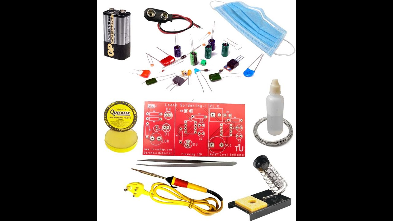 Electronic Kits For Assembly : Electronic app builder soldering kit assembly video