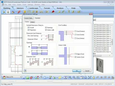 Hgtv home design software customizing dimensions and text youtube malvernweather