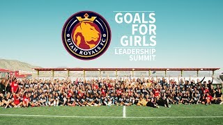 Goals for Girls Leadership Summit with URFC