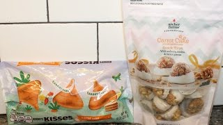 Carrot Cake Hershey's Kisses & Archer Farms Carrot Cake Snack Bites Review