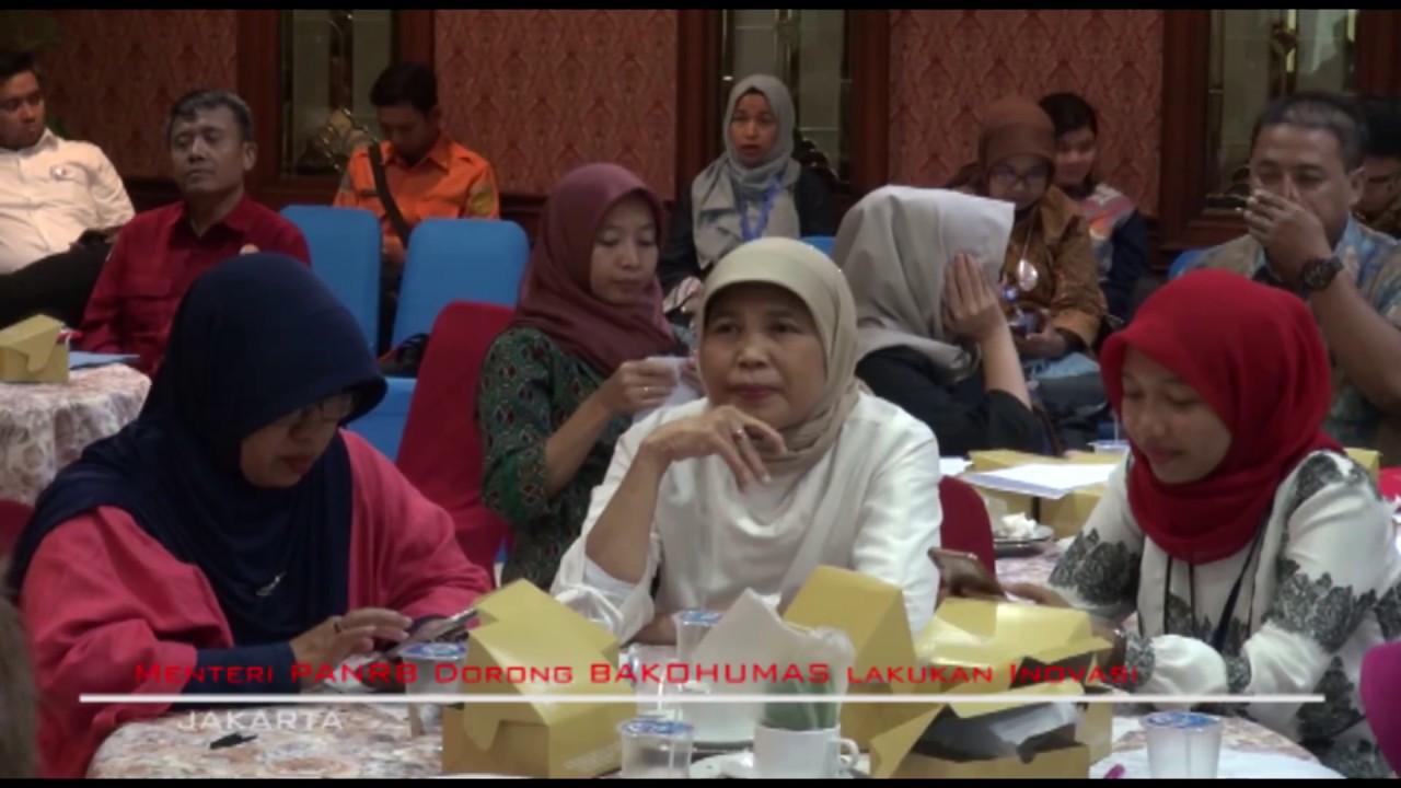 Menteri PANRB Dorong BAKOHUMAS Lakukan Inovasi