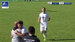 A-junioren - 1:1 enes aydin ssv ulm 1846 fußball vs sv sandhausen