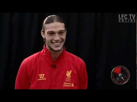 Andy Carroll plays the YES/NO game