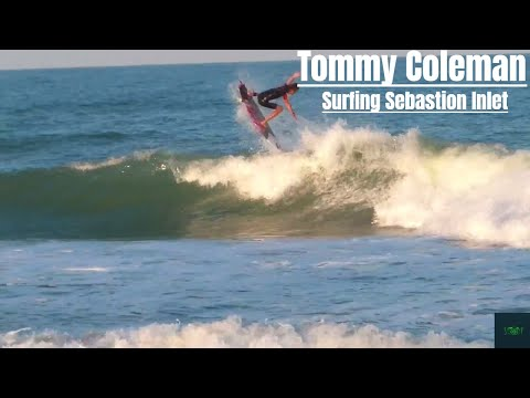 Tommy Coleman Surfing Sebastian Inlet Florida