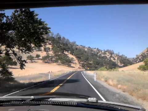 Driving to Willits California