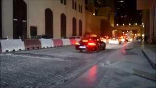 Dazzled Cars on Jumeirah Beach Road - Dubai
