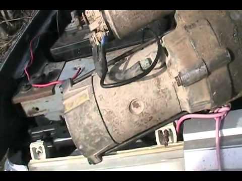 install starter motor for ford 7 3 diesel davidsfarmison bliptv now rh youtube com 1986 Ford F-150 Wiring Diagram Ford F-150 Wiring Diagram