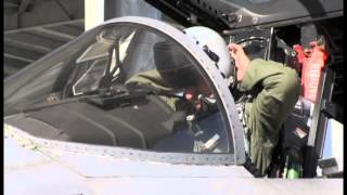 144th Fighter Wing Launches its first two F-15 Training Sorties