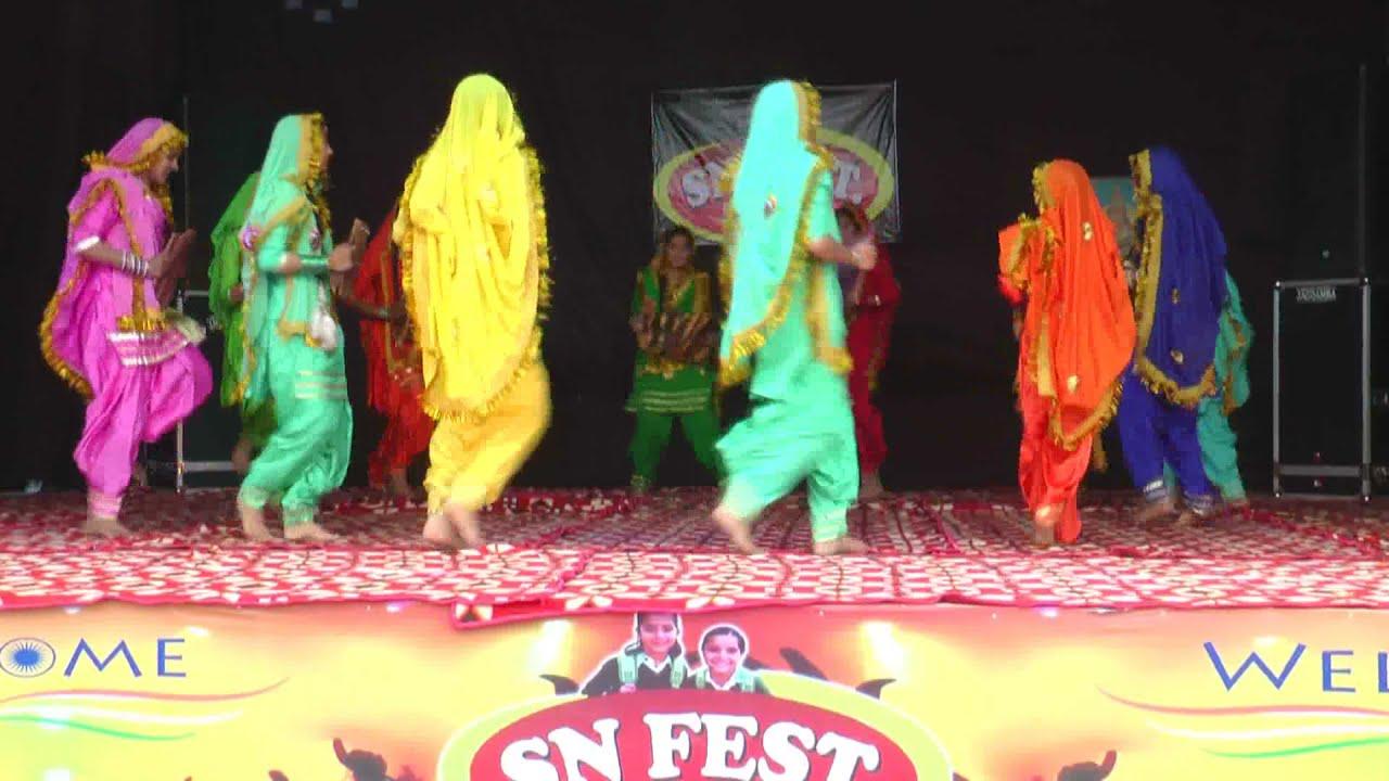 Punjabi Welcome Song by Shanti Niketan School Dhingsara Students