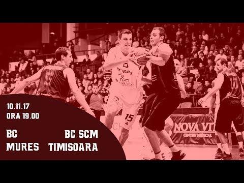 LNBM 2017-2018: BC Mures Tg Mures - BC SCM Timisoara