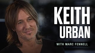Keith Urban: Fire; family; Stephen Colbert