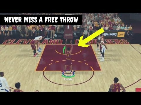 NBA 2K19 BEST FREE THROW ANIMATION | EXCELLENT RELEASE EVERY TIME