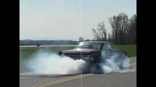 1965 Mercury Comet Cyclone Burnout