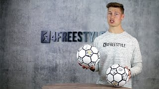 About the control ball for freestyle football