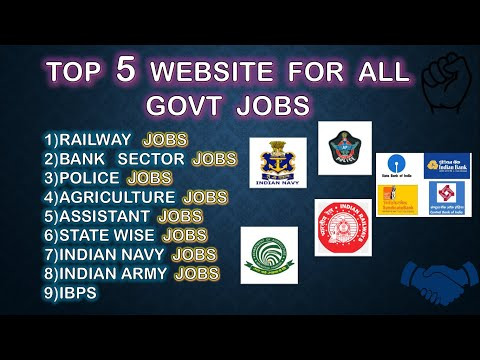 Best websites for govt jobs