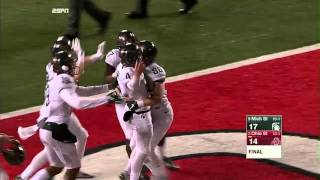 Michael Geiger's Game Winning Field Goal vs. Ohio State