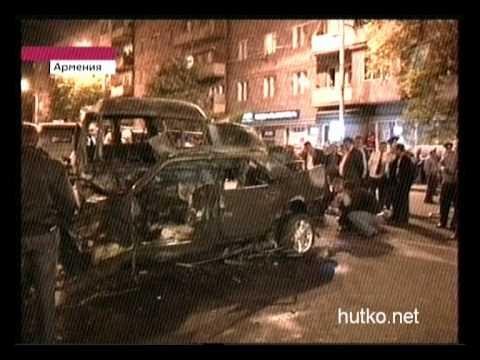 Ужасная автоавария в Армении