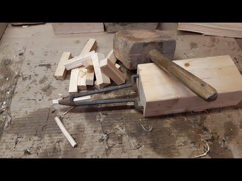 Киянка, железка, и деревяшка, или, как сделать Нагель?