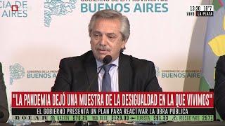 """Alberto Fernández: """"La pandemia dejó una muestra de la desigualdad en la que vivimos"""""""