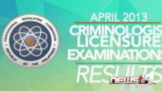 PRC: Only 5,701 out of 13,484 examinees passed the criminology licensure exam