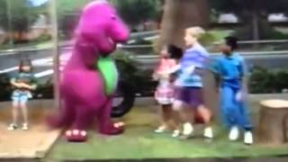 Barney comes to life (Excellent Exercise!)